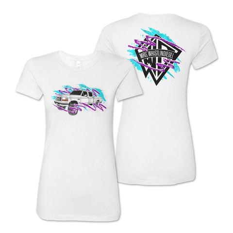 Mrs.WD Logo T-shirt- Women's fitted