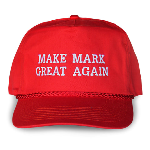 Make Mark Great Again Cap front