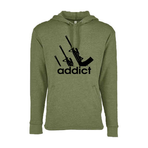 Nick Irving addict pullover hoodie