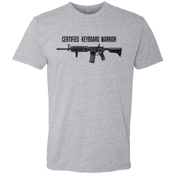 Operator Drewski Certified Keyboard Warrior T-Shirt