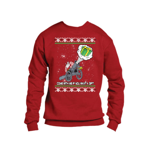 Robert Oberst Red Christmas Sweater