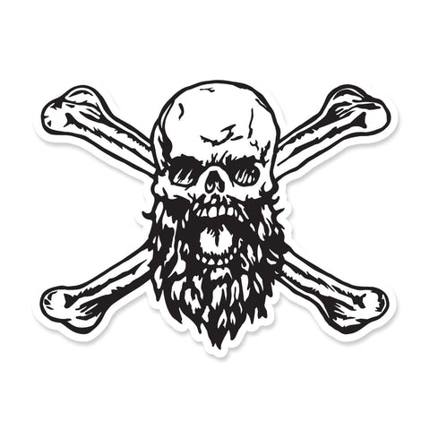Robert Oberst's Skull and Bones sticker