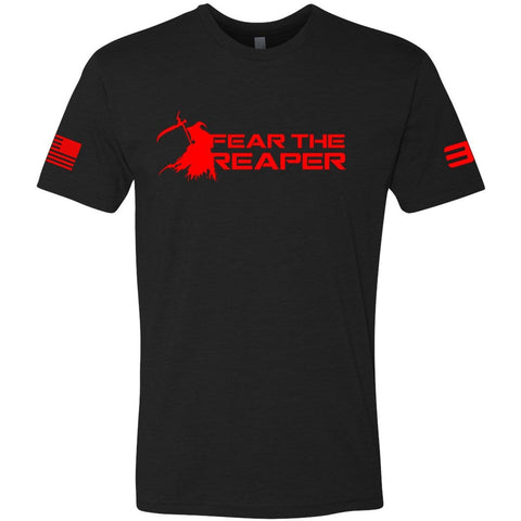 Nick Irving's - Fear the Reaper 33 Black T-shirt Front