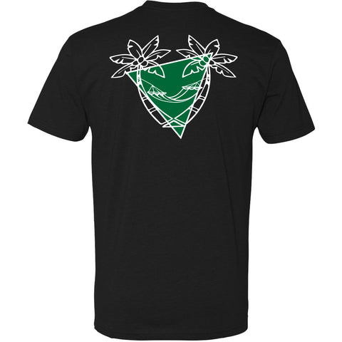 Blank Canvas Green Palm T-Shirt