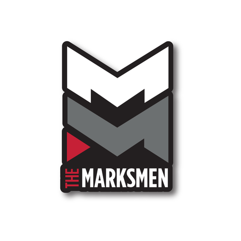 The Marksmen Logo Sticker
