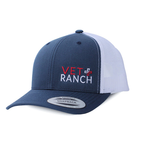 Vet Ranch Stacked Logo Hat