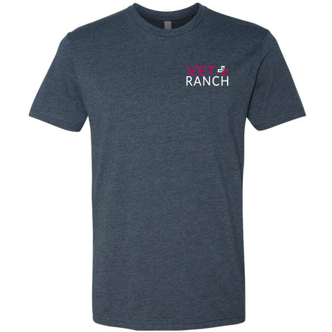 Voice of the Voiceless - Vet Ranch Midnight Navy t-shirt front
