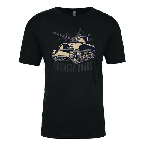 Country Roads Black T-shirt