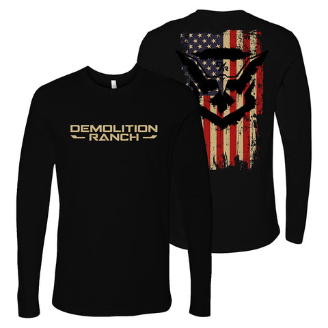 Demo Eagle Flag Long Sleeve