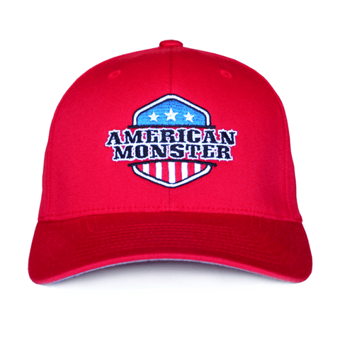 American Monster Red Hat