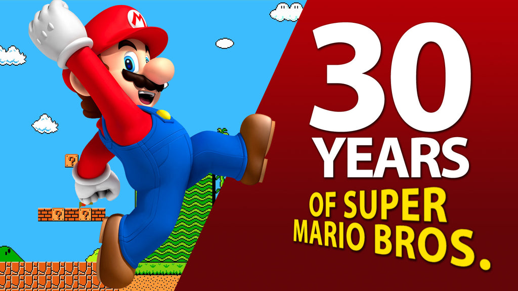 30 years of  Super Mario Brothers 3 in N. America