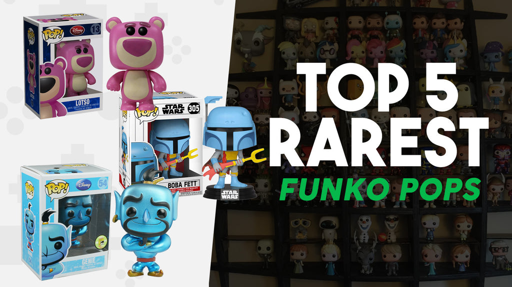 TOP 5 RAREST FUNKO POPS