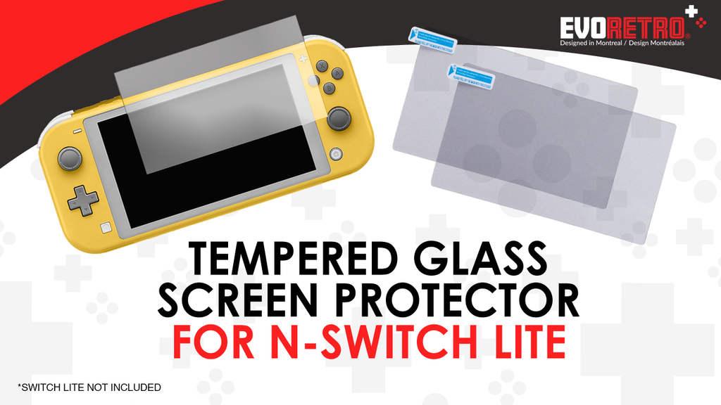 How to use our screen protector for Nintendo Switch Lite?