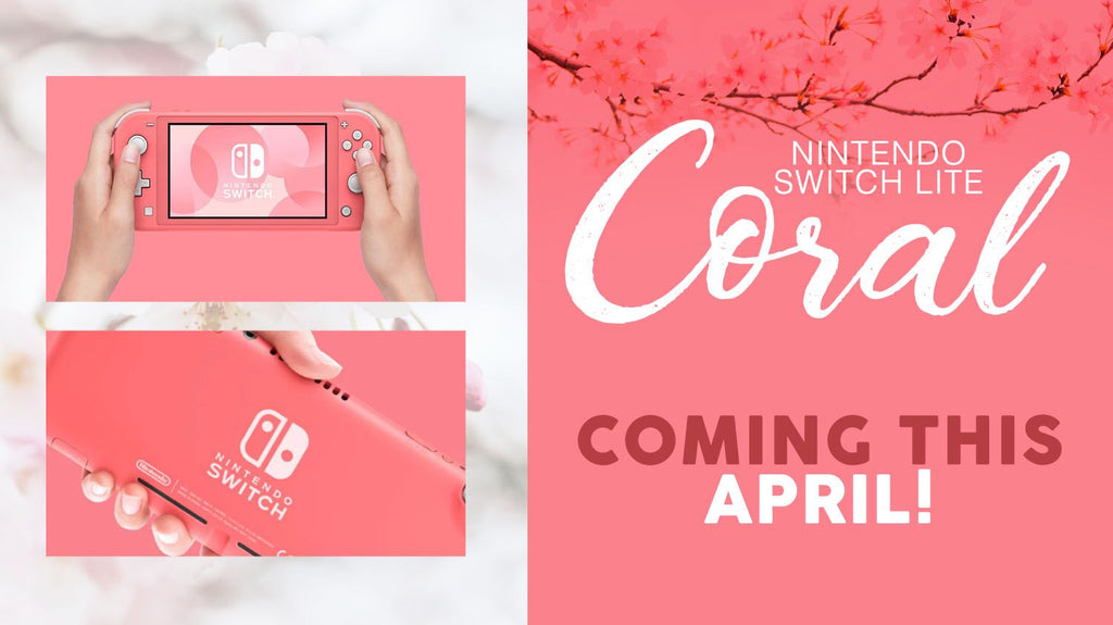 New Nintendo Switch Lite Coral & here's how you can enjoy it to the fullest!