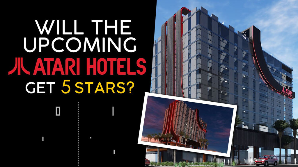 Have you heard of the new upcoming Atari Hotel?