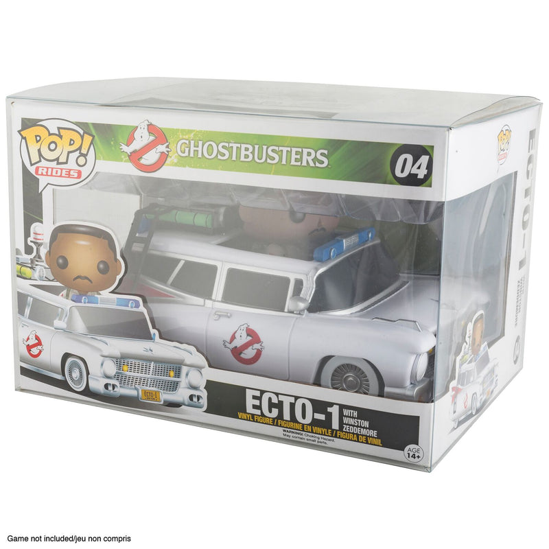 Funko Pop Rides for original Batmobile - PET Protectors - Pack of 10