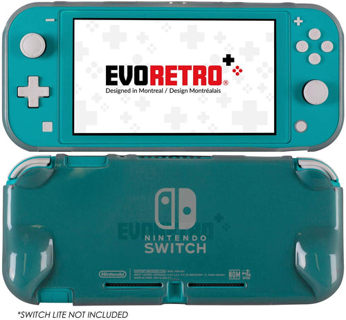 Protective TPU Clear Transparent Grip Shell Case for Nintendo Switch Lite