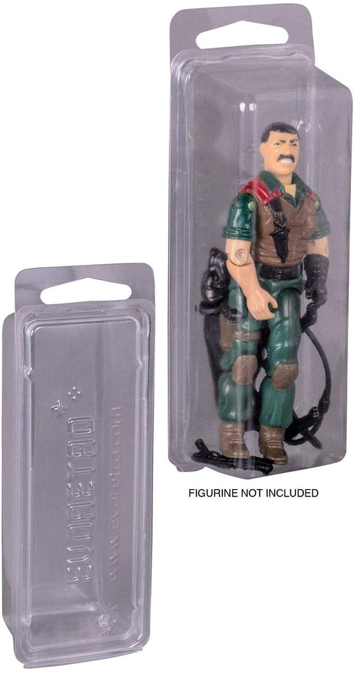 Star Wars & Gi-Joe 3.75 inch Action Figures  - Collectibles Blisters Clamshell Case - PET Protector - Pack of 50