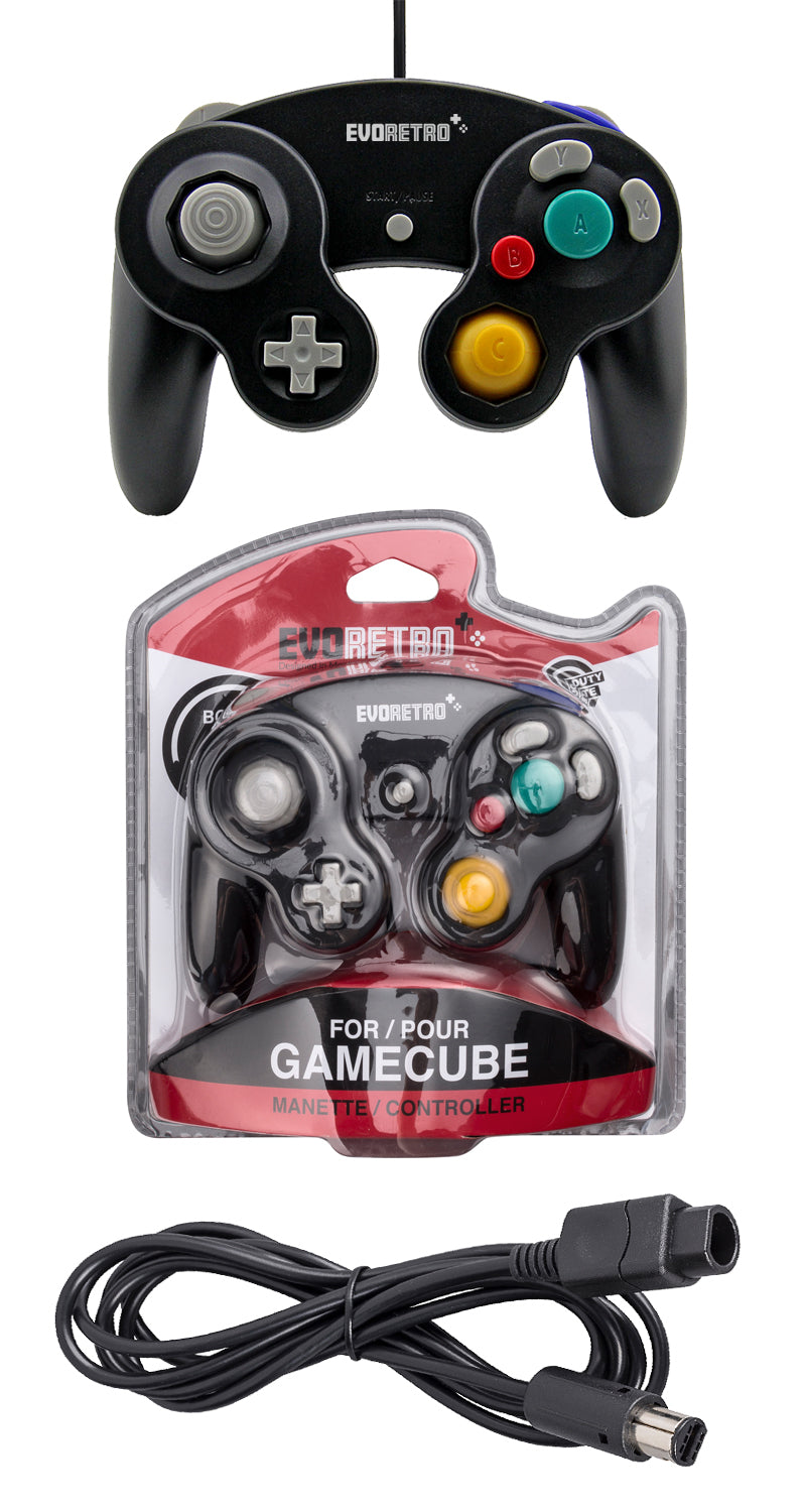 Gamecube Controller And 6 Feet Extension Cable Set Compatible With Nintendo Switch Wii U Pc Best For Smash Bros By Evoretro