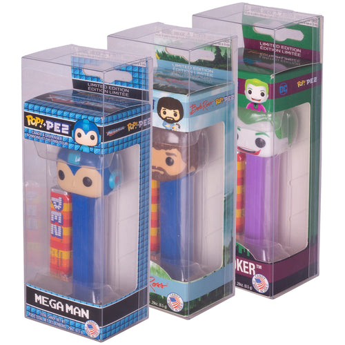 Funko Pop Pez Protectors 6.6x5.1x17.8cm - Pack of 10