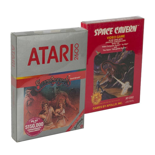 Atari 2600/5200/7800 Box Thick Anti-Dust/Scratch/Moisture 0.4 mm Thick Clear Plastic Protectors by EvoRetro