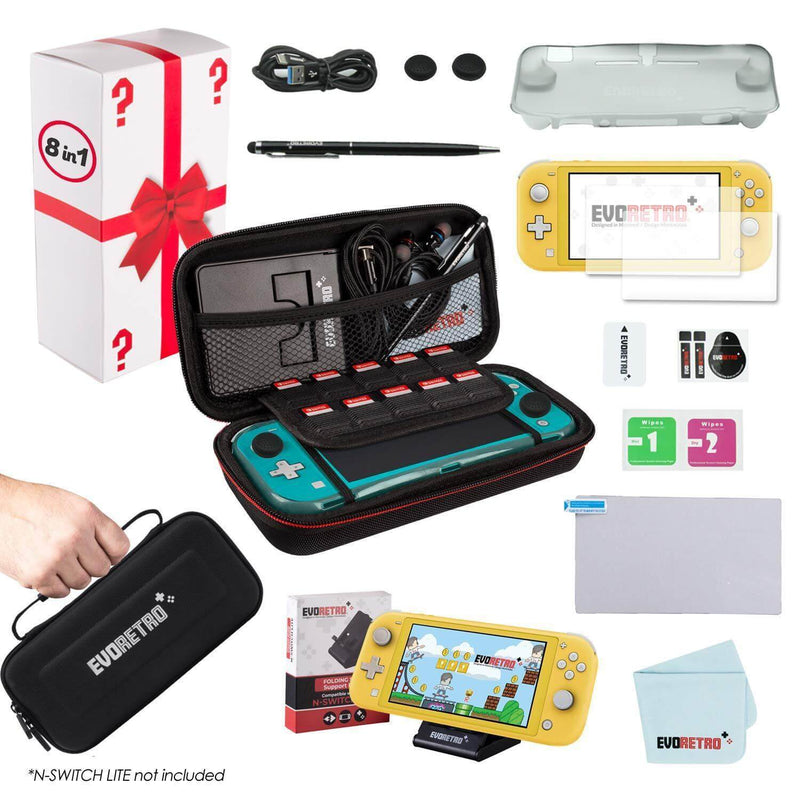 NINTENDO SWITCH LITE COMPLETE PROTECTIVE KIT