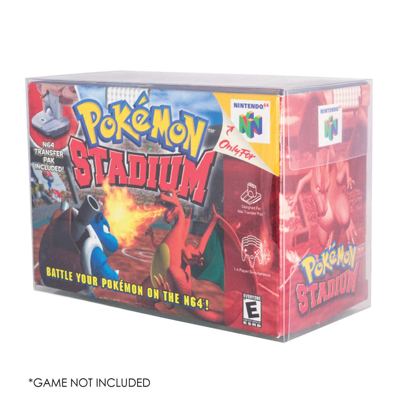 Nintendo N64 Pokemon Stadium - PET Protectors - Pack of 1