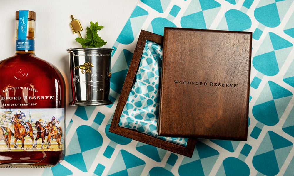 Our silk design for Woodford Reserve's Mint Julep program / Derby 146