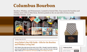 Columbus Bourbon- 2019 Father's Day Gift Guide for the Bourbon and Whiskey Loving Dad
