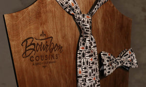 Entrepreneurial Love-Bourbon Cousins Neckties and Bow Ties