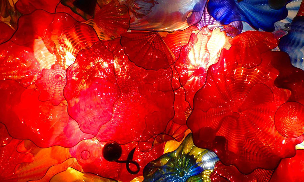 Dale Chihuly exhibit at Maker's Mark