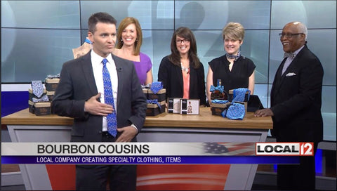 Bourbon Cousins interviewed on Cincinnati's Local 12 news