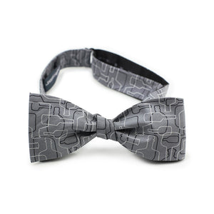 Bourbon Days Bow Tie + Sock Gift Set | Gray + Black