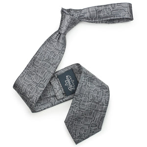 Bourbon Days Tie + Sock Gift Set | Gray + Black