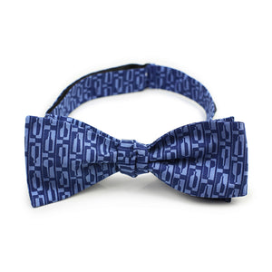 Bourbon Row© Bow Tie | Navy + Chambray Blue