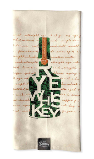 Rye Whiskey Bar/Kitchen Towel