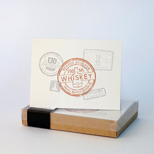 """Whiskey Seals"" Note Cards 