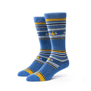 Whisky Tasting Socks | 3 Pack | Royal Blue + Sky + gold