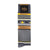 Bourbon Fest Tie + Sock Gift Set | Gold + Gray