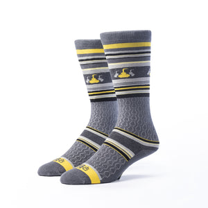 Whisky Tasting Socks | 3 pack | Gray + Gold + Black