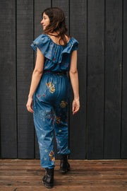 Ana Ruffled Jumpsuit - Soler London - Alex Al-Bader