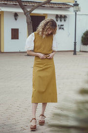 Alma A-line Midi Skirt - Soler London - Alex Al-Bader