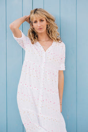 Capri Tiered Henley Dress - Soler London - Alex Al-Bader