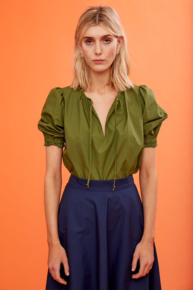 Ines Short Sleeve Top - Soler London - Alex Al-Bader