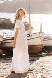 Margaritte Latticed Maxi Dress - Soler London - Alex Al-Bader