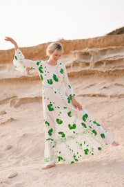 Pia Gathered Tier Maxi Dress - Soler London - Alex Al-Bader