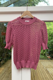 Taki Crew Neck Short Sleeve Jumper