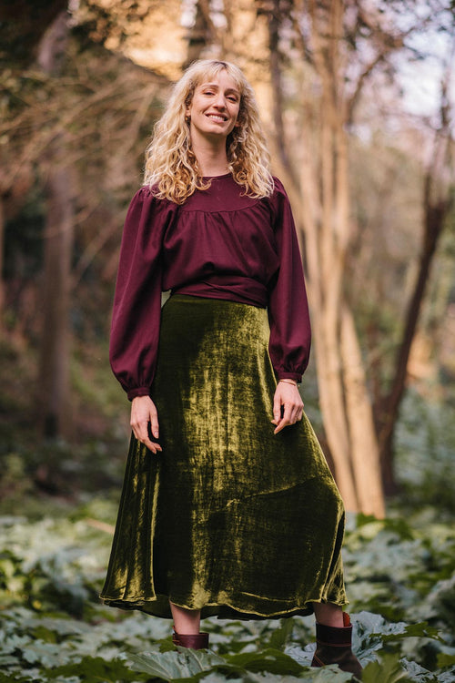 Bea Semi-circle Midi Skirt | Bespoke it!