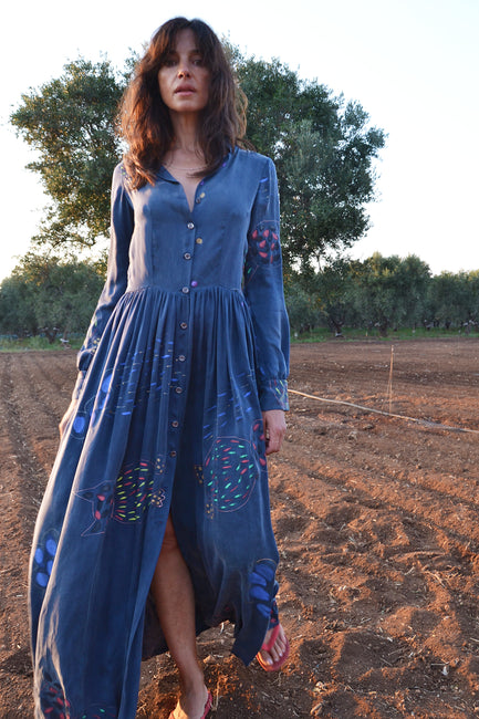 Dresses - California Maxi Shirt Dress