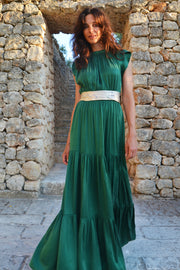 Malta Bow-Tie Maxi Dress - Soler London - Alex Al-Bader